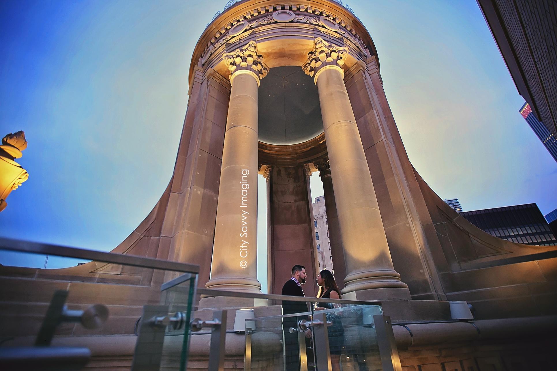 Londonhouse Cupola Chicago Surprise Proposal Chicago