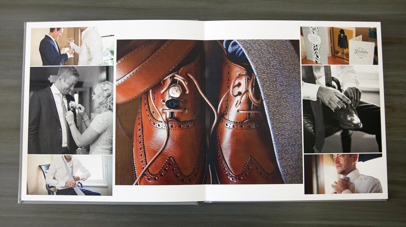 wedding photo album pages