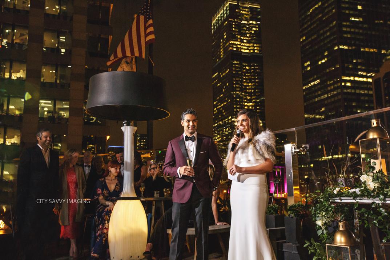 A Renaissance Chicago Wedding At Raised Bar Rooftop Chicago Wedding Photographer City Savvy Imaging City Savvy Imaging Chicago Wedding Photographer